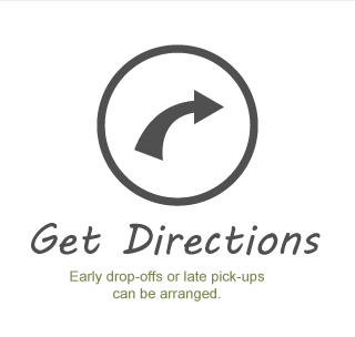 Get Directions - Early drop-off and pick-up can be arranged